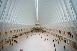 Atrio monumentale WTC - interno