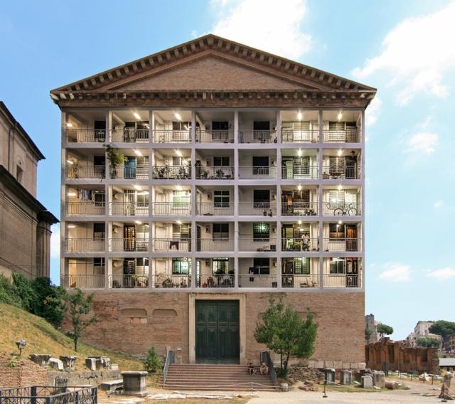edificio-residenziale-nei-fori-romani-2016
