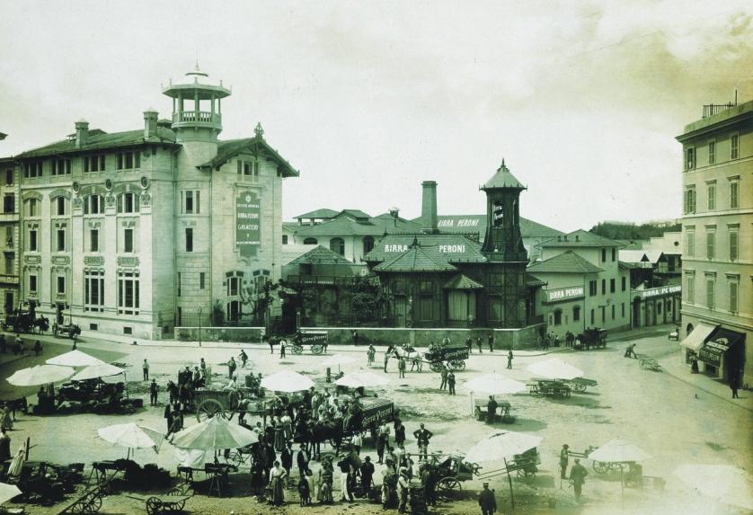 Birra-Piazza-Alessandria-1910