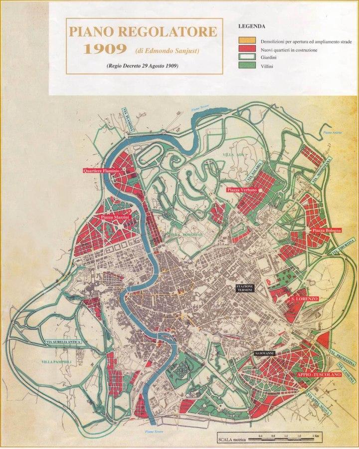 5-PRG di Roma del 1909